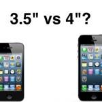 iPhone4SとiPhone5の葛藤。iPhoneのスクリーンサイズと本体サイズについて考えてみた