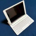 【パート2】iPadに磁石つけてbelkinキーボードの角度を無段階にしたら快適だった